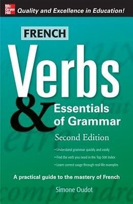 French Verbs & Essentials of Grammar by Simone Oudot Paperback Book (English)