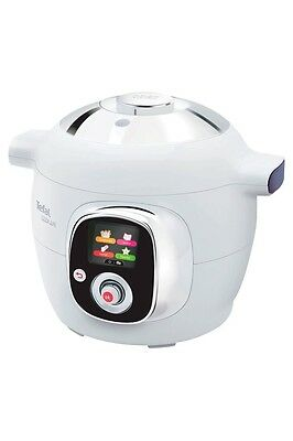 Tefal CY7011 Cook4Me Pressure Cooker - White
