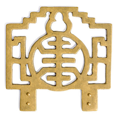 """CBH Chinese Brass Hardware Picture Hook Hanger 4"""" x 3.2"""""""