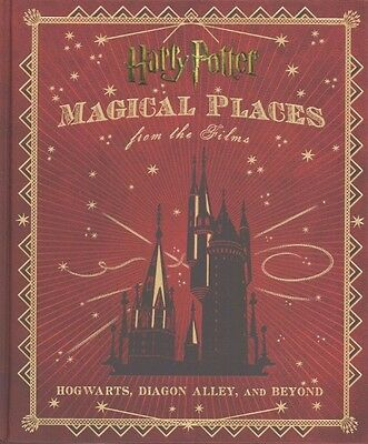 Harry Potter: Magical Places from the Films by Jody Revenson Hardcover Book