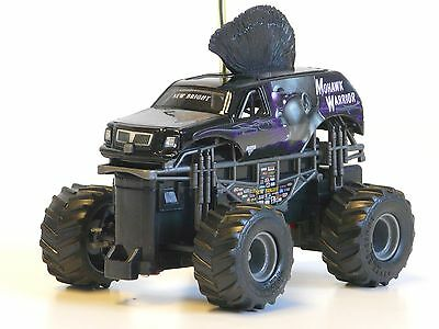 RC Auto Monster Jam MOHAWK WARRIOR 27MHz 1:43 New Bright 4330