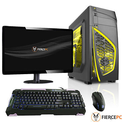 ULTRA FAST Dualcore 8GB 1TB Desktop Gaming PC Computer 3.9GHz AMD 199056