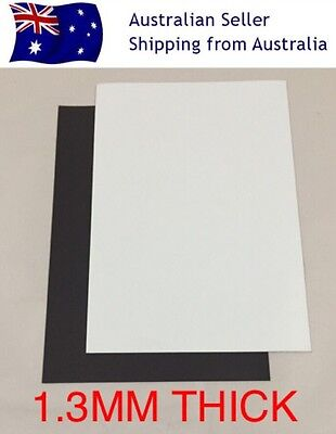 X2 A4 1mm Blank White PVC Magnet Sheets DIY Hand Craft Fridge Office School