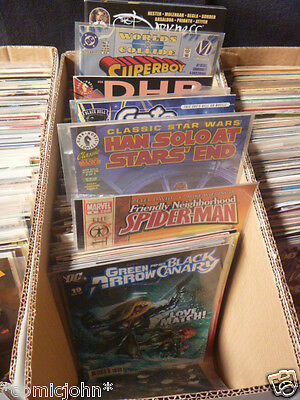 Fantastic selection of 200 x Marvel, DC and Independent title comics - Bulk lot