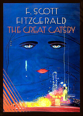 SCOTT FITZGERALD The Great Gatsby❤ typography book quote poster art print #27 F