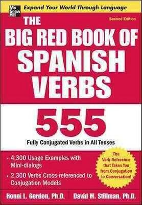The Big Red Book of Spanish Verbs by Ronni L. Gordon Paperback Book (English)