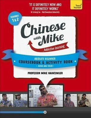 Learn Chinese With Mike Absolute Beginner Coursebook and Activity Book Pack Seas