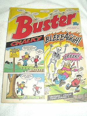 UK Comic Buster 26th November 1988