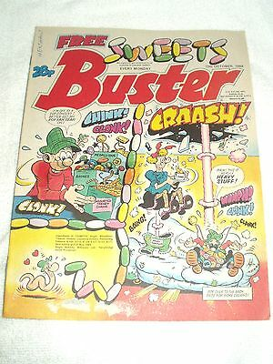 UK Comic Buster 15th October 1988
