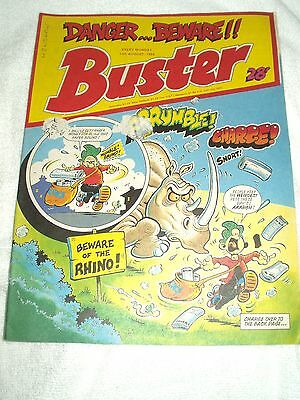 UK Comic Buster 13th August 1988
