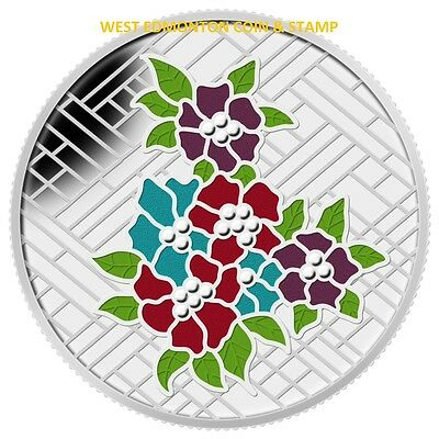 2014 $20 Fine Silver Coin - Stained Glass: Craigdarroch Castle
