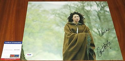 Caitriona Balfe Signed 11x14 Outlander w/Character Name Claire PSA/DNA