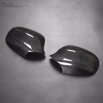 for BMW E90 Carbon Fiber Rearview Side Mirror Cover 2009-2011