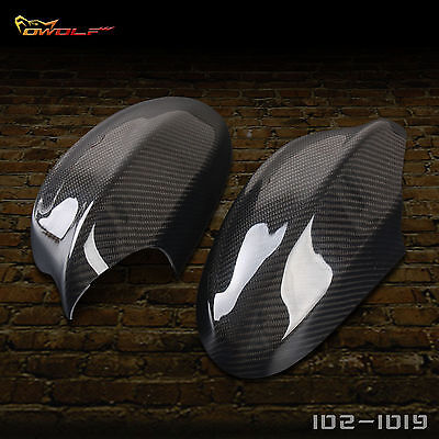 Carbon Fiber Rearview Side Mirror Cover for BMW E90 2005 2008