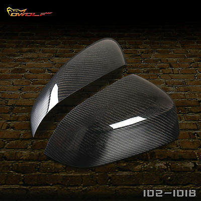 BMW X3 E83 X4 F26 X5 F15 X6 F16 Carbon Fiber Rearview Side Mirror Cover 2014-16