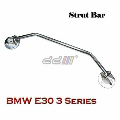 Aluminium 2 Points Front Upper Strut Tower Brace Bar For BMW E30 3 Series 82-93