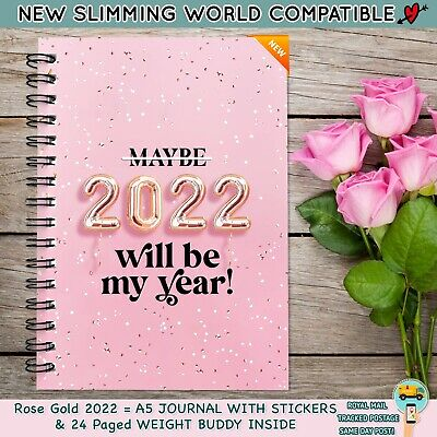 Diet Food Diary Slimming World Compatible Planner Tracker Log Book Weight Loss37
