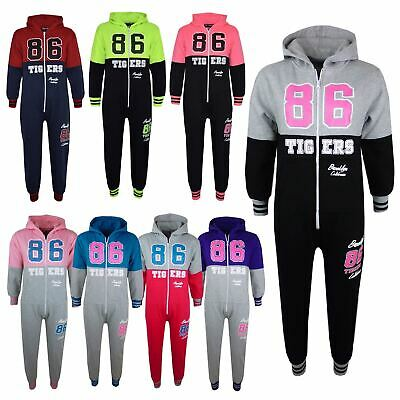 Kids Girls Boys A2Z Onesie One Piece TIGERS 86 BROOKLYN CALIFORNIA Jumpsuit PJ's