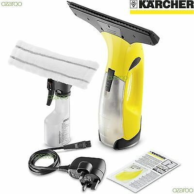 Karcher WV2 Plus Vac Cordless Rechargeable Glass Window Vacuum Cleaner Kit - UK