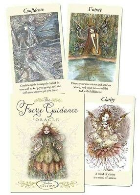 The Faerie Guidance Oracle by Paulina Cassidy Hardcover Book (English)
