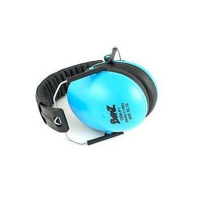 Baby Banz Children's Earmuffs - Blue for ages 2 - 10 Years