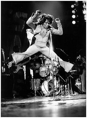 A3 Size - JAMES BROWN American Singer POPULAR GIFT/ WALL DECOR ART PRINT POSTER