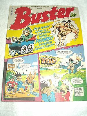 UK Comic Buster 16th April 1988