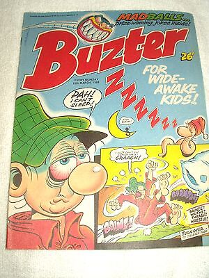 UK Comic Buster 12th March 1988