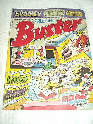 UK Comic Buster 5th March 1988