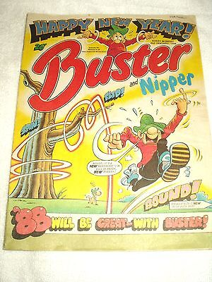 UK Comic Buster and Nipper 2nd January 1988