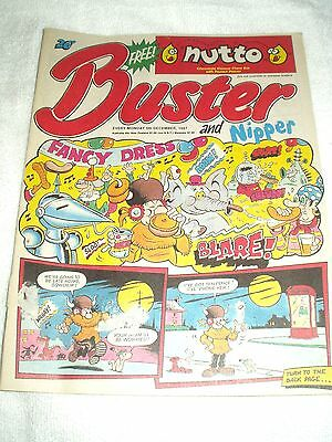 UK Comic Buster and Nipper 5th December 1987