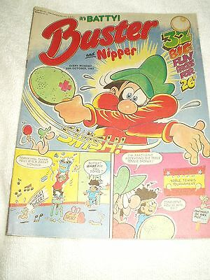 UK Comic Buster and Nipper 24th October 1987