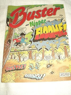 UK Comic Buster and Nipper 10th October 1987