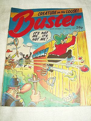 UK Comic Buster 22nd August 1987