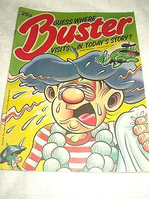 UK Comic Buster 15th August 1987