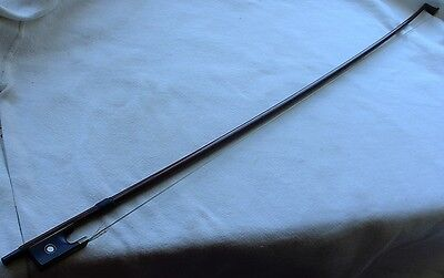 Vintage Made in Germany Violin Bow MOP Inlay German Bow