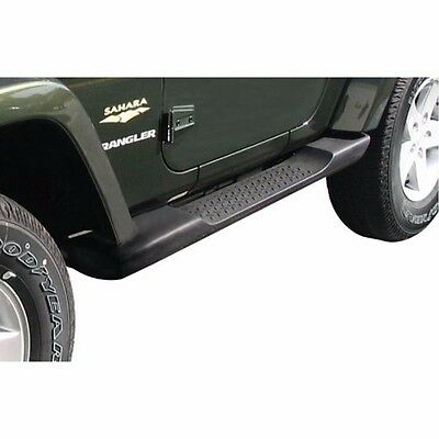 New Jeep Wrangler Side Step Running Board Nerf Bar OE Style for 07-17 JK 2dr Blk