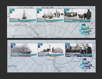 ROSS DEPENDENCY - 2015 - Miniature Sheets: Imp Trans-Antarctic Expedition. MNH