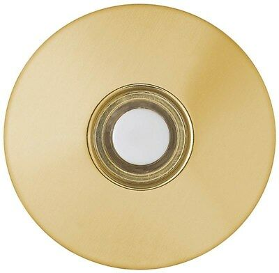 Thomas & Betts #DH1260L StucWHT Brass Push Button,No DH1260L,  Thomas & Betts