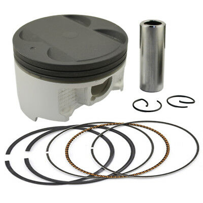Piston Kit Pin Rings For Suzuki Burgman Skywave 400 AN400 STD Bore Size 83mm