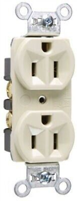 15A IVY HD DPLX Outlet,No CRB5262ICC12,  Pass & Seymour