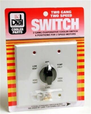 DIAL MFG INC #7131 MTL SPD Wall Switch,No 7131,  Dial Mfg Inc