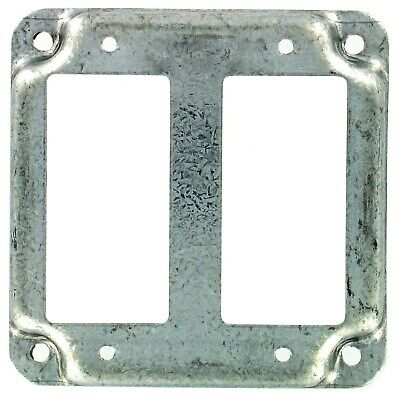 """4"""" SQ 2 GFI Recep Cover,No 809C,  Raco Incorporated"""