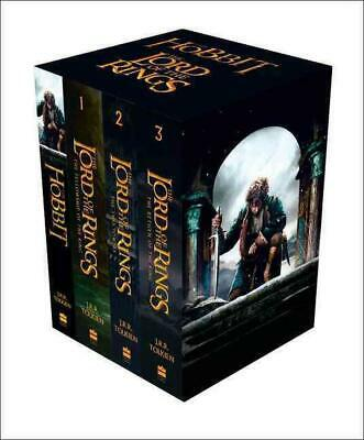 The Hobbit and The Lord of the Rings Boxed Set by JRR Tolkien (English) Paperbac