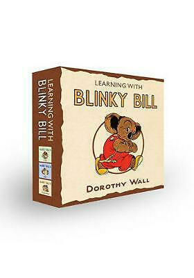 Blinky Bill's Slipcase by Dorothy Wall Hardcover Book Free Shipping!