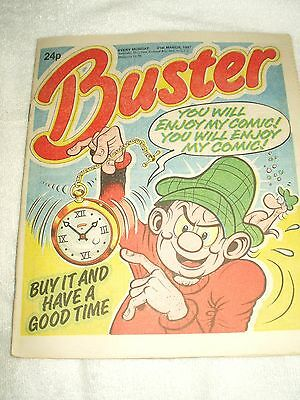 UK Comic Buster 21st March 1987