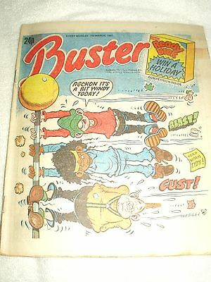 UK Comic Buster 7th March 1987