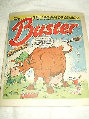 UK Comic Buster 28th February 1987