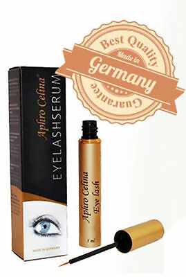 Aphro Celina® 3ml Eyelash Wimpernwachstumsserum Wimpernserum - Made in Germany!