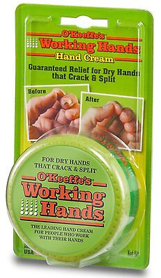 O'Keeffe's Working Hands DRY HANDS THAT CRACK & SPLIT Skin Cream 96g